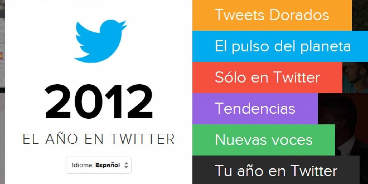 Twitter resume el 2012 en tuiteos
