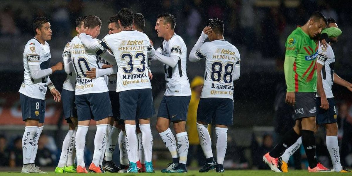 Pumas golea a Juárez en la Copa MX