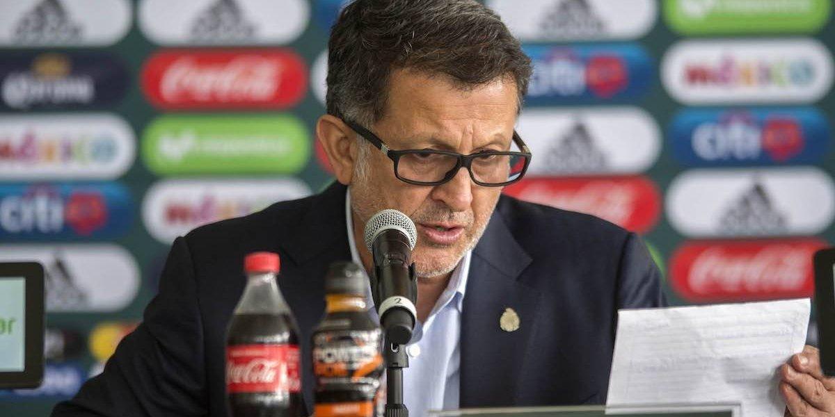 Sorpresas en la primera lista de la Selección mexicana para 2018