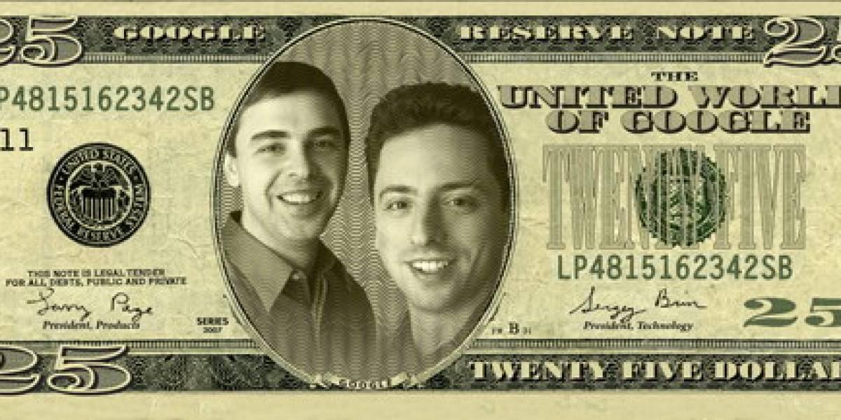 Pobrecitos: Larry, Sergey y Eric de Google recibirán US$1 de sueldo