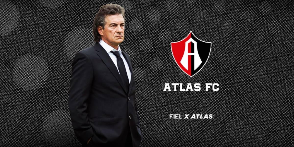 OFICIAL: Ruben Omar Romano es el nuevo director técnico de Atlas