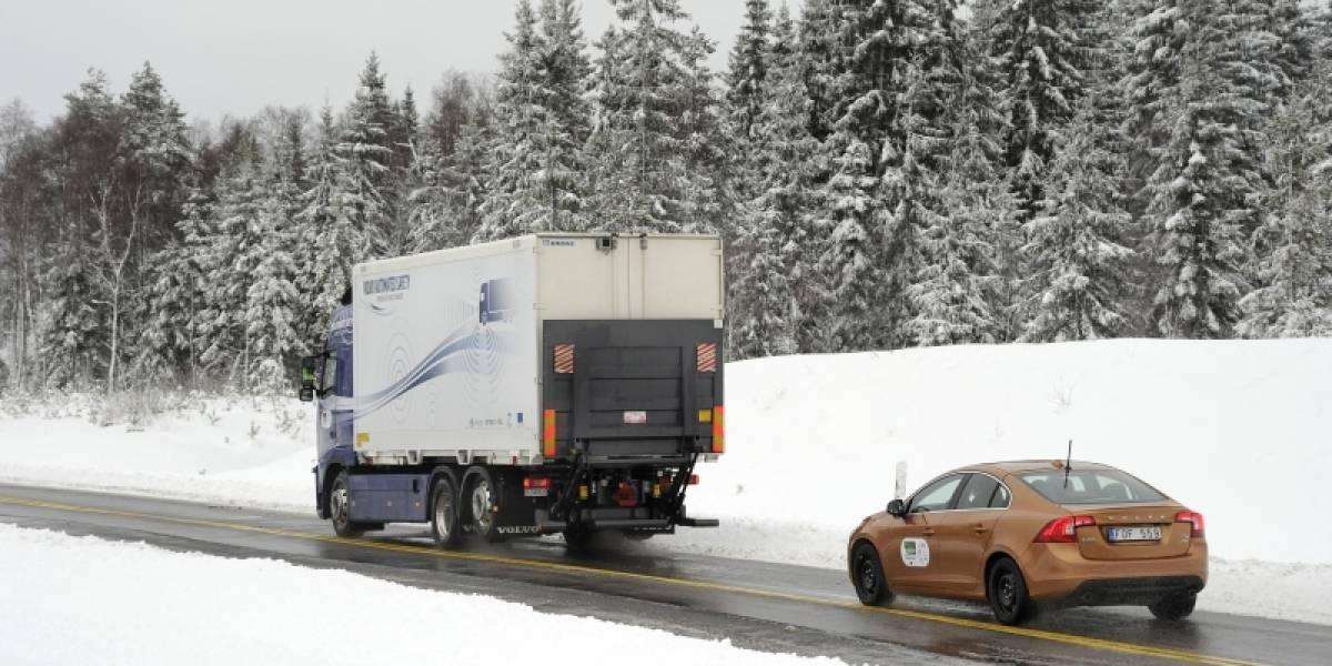 Volvo realizó la primera demostración pública del proyecto SARTRE (Video)