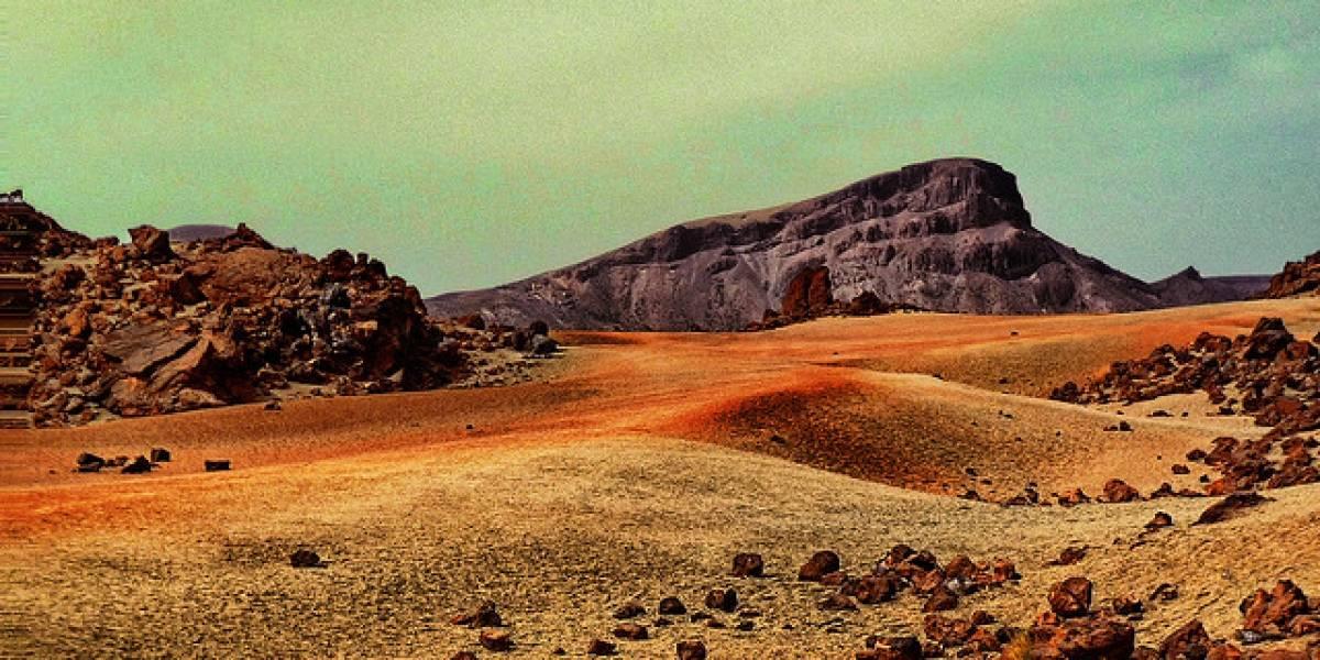 Microbios terrestres que viven en el hielo podrían sobrevivir en Marte
