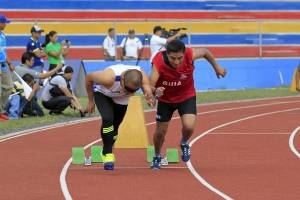 El atletismo tuvo una jornada dorada.