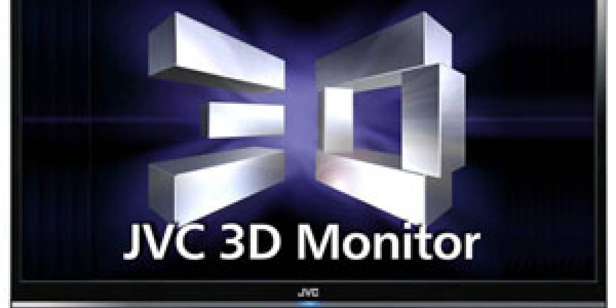 GD-463D1: Monitor 3D HDTV de JVC