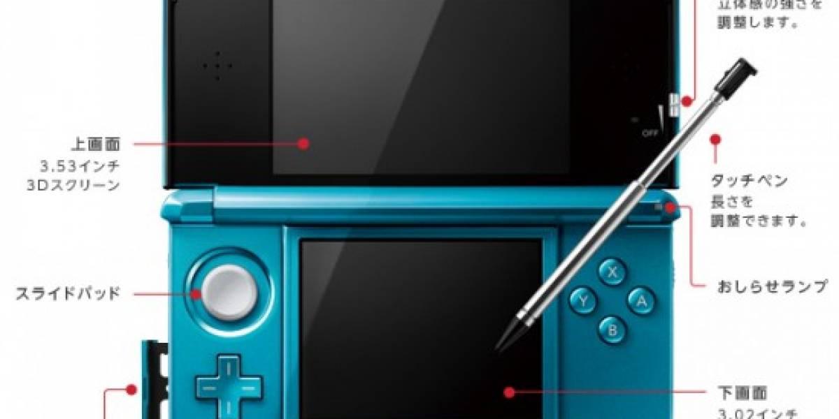 El 3DS podría combatir la piratería con actualizaciones automáticas