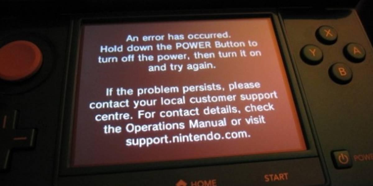 Algunos usuarios reportan problemas con sus 3DS