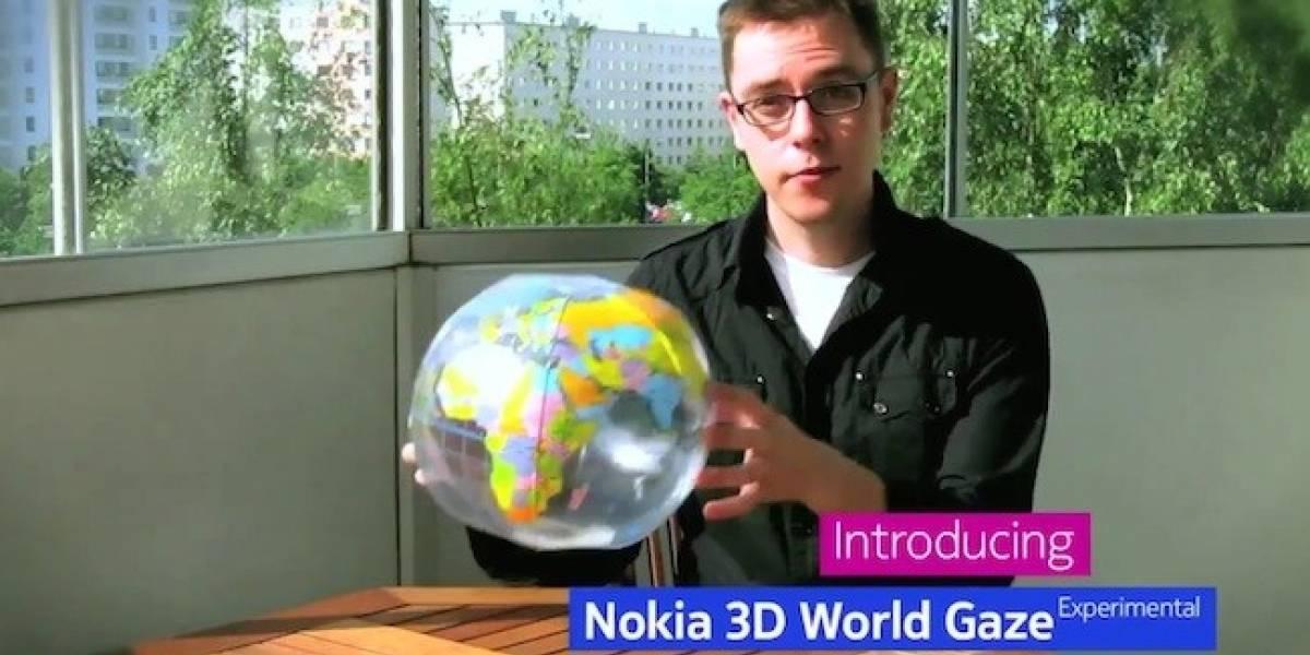 ¿Qué es el Nokia 3D World Gaze?