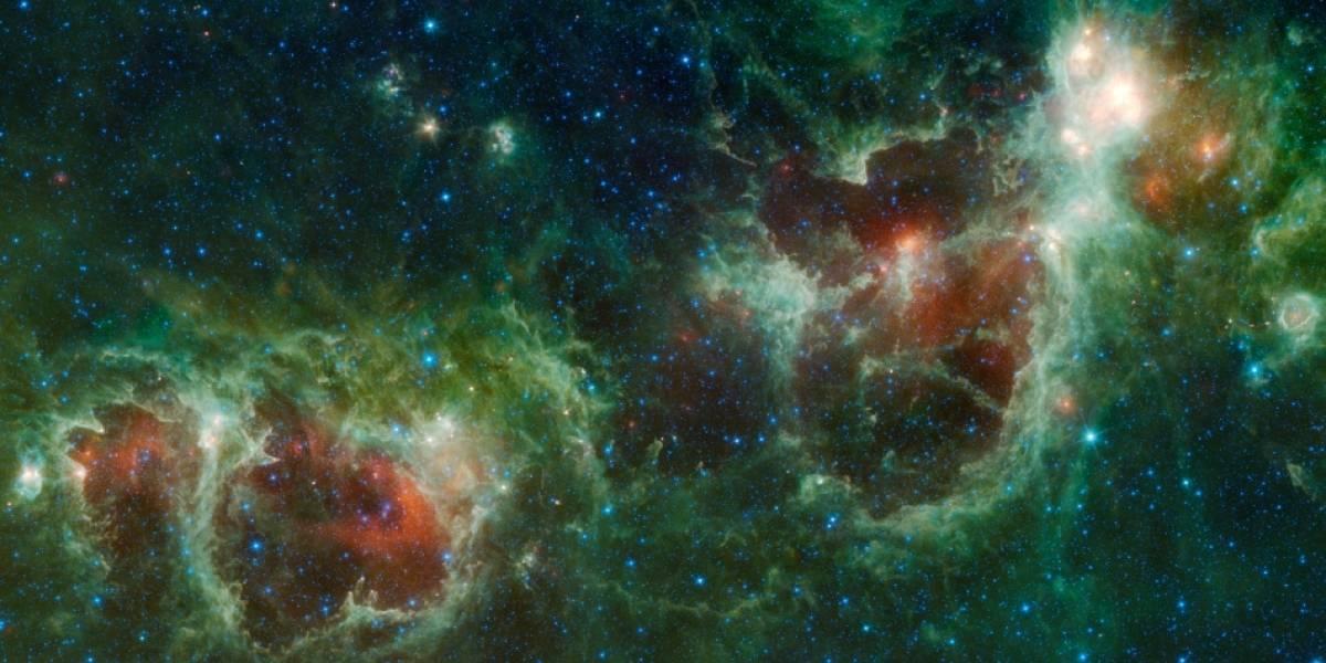 Imperdible: Telescopio WISE fotografía nebulosa con forma de corazón