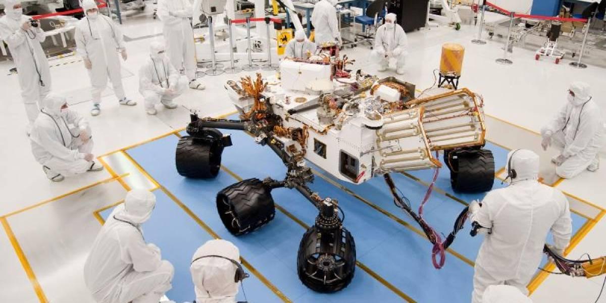 El rover Curiosity se quedó sin financiamiento