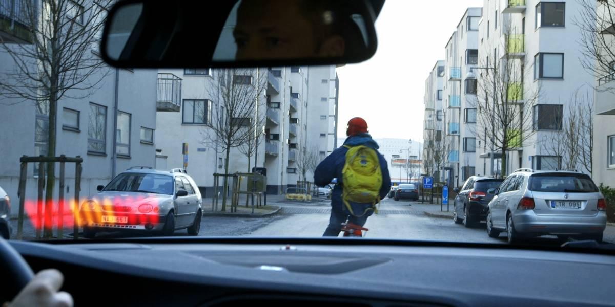 Volvo revela tecnología capaz de frenar en seco si se cruza inesperadamente un ciclista
