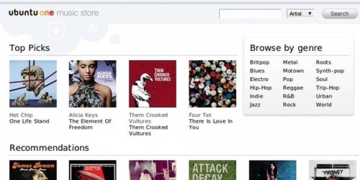 Futurología: Ubuntu One Music Store