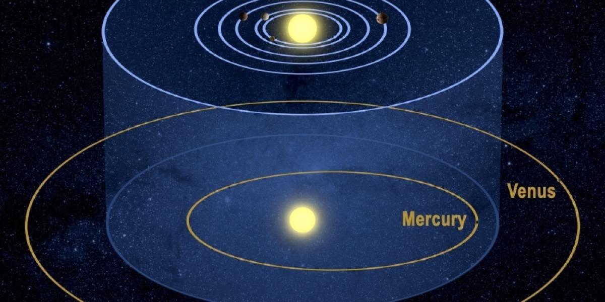 Descubren un extraño sistema solar compuesto por seis planetas