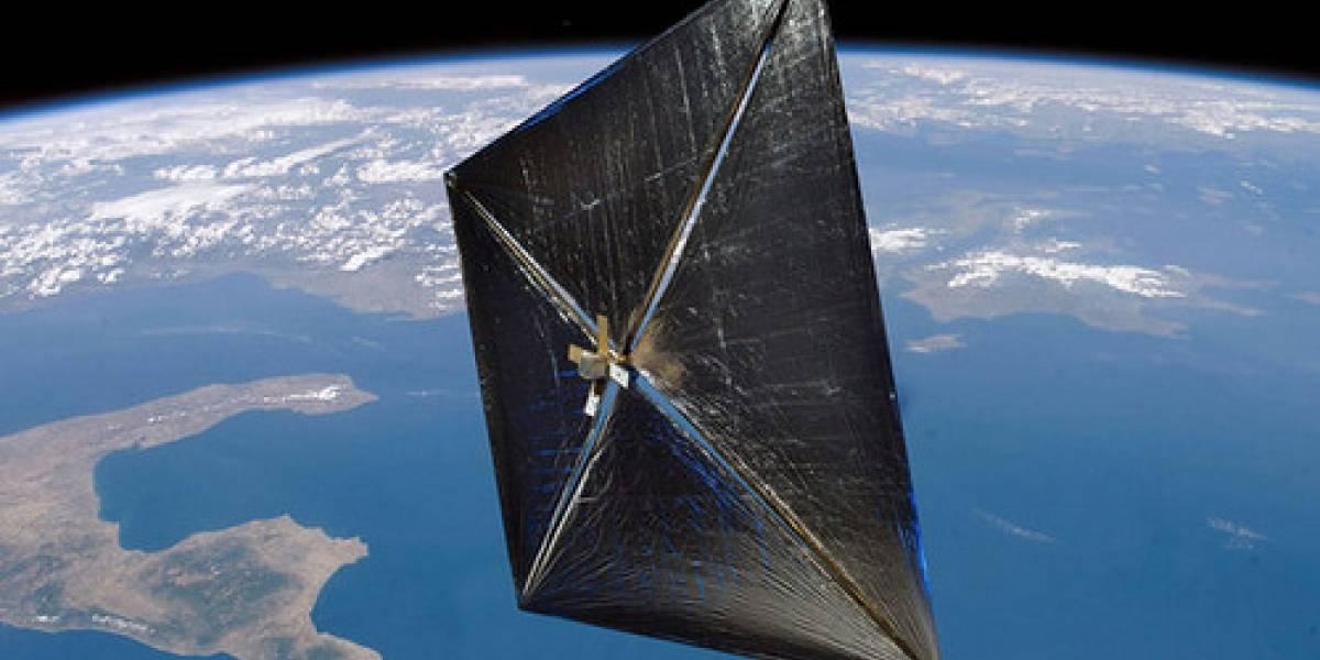 Vela solar Nanosail-D2 de la NASA logró desplegarse