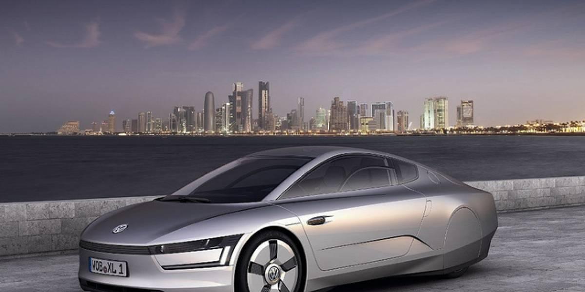 XL1: Nuevo prototipo de vehículo híbrido súper-eficiente de Volkswagen
