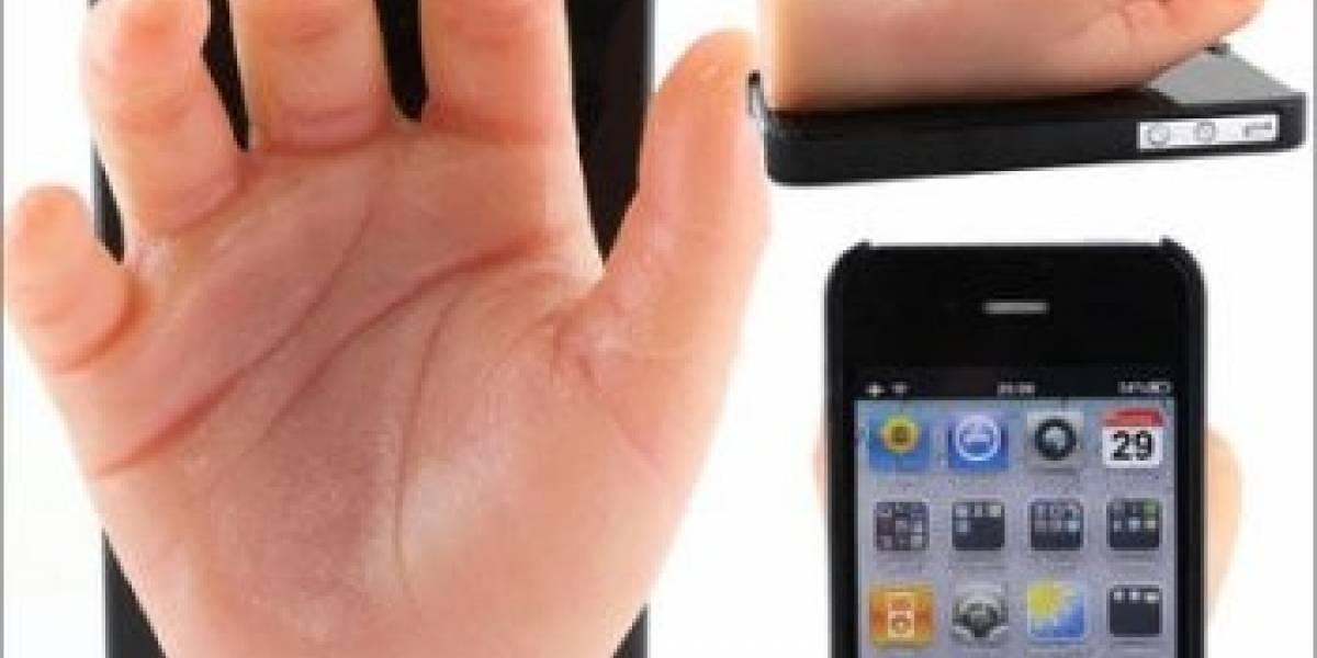 Dokkiri Hand Case, la carcasa-mano para iPhone 4