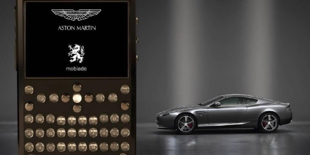 Mobiado presenta el teléfono móvil oficial de Aston Martin