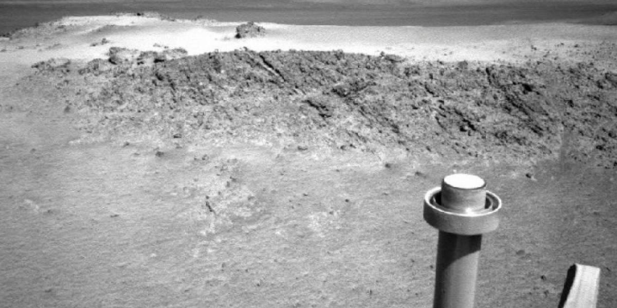 El rover Opportunity pasará el invierno marciano estacionado en el cráter Endeavour