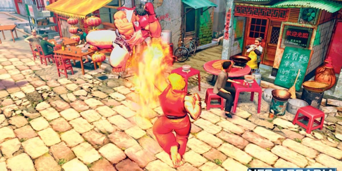 Street Fighter IV y sus nuevas imagenes
