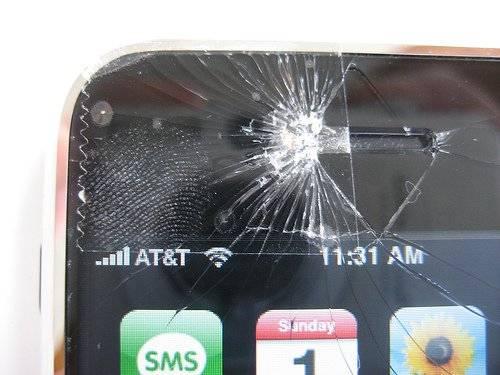 Primer iphone roto