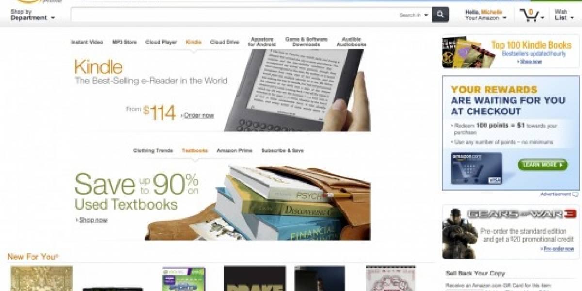 Amazon rediseña su página web antes de la llegada del Kindle Tablet en noviembre