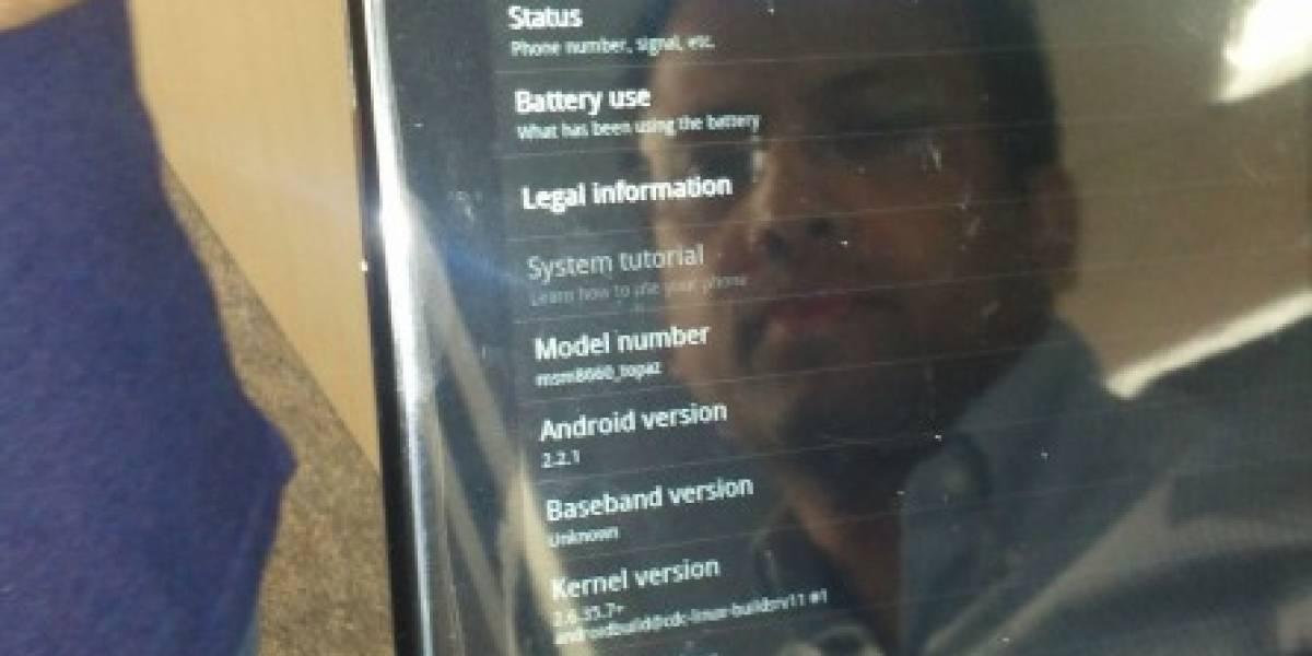 Aparece en venta un TouchPad de HP con Android en eBay