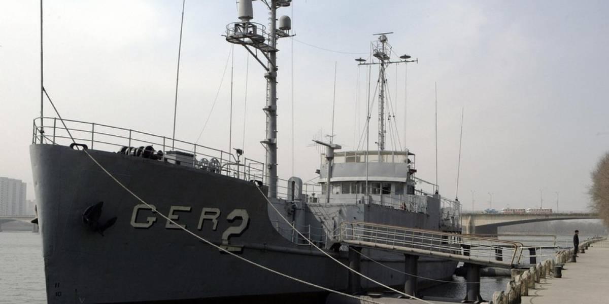 Como foi a captura pela Coreia do Norte do único navio militar dos EUA mantido em poder de outro país