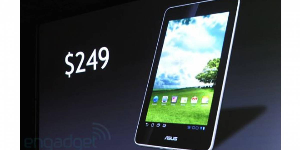 CES 2012: NVIDIA y ASUS golpean la mesa con tablet a USD$249, Ice Cream Sandwich y Tegra 3 [Actualizado]