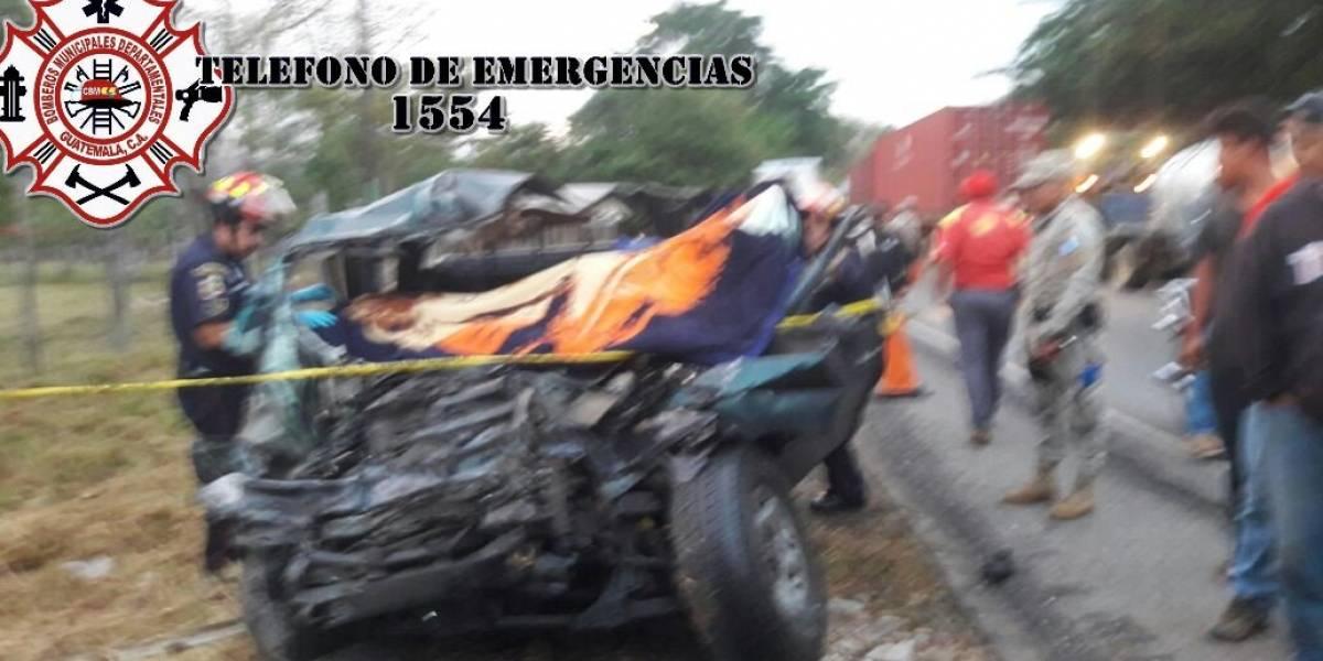 Accidente en ruta al Atlántico deja cuatro fallecidos y 25 heridos