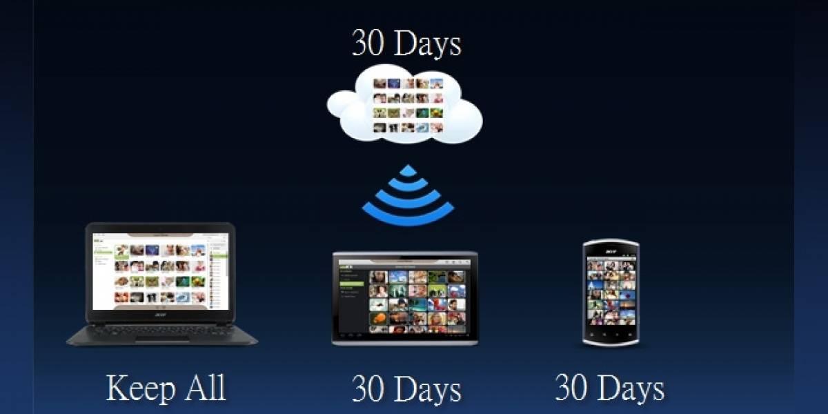"""CES 2012: Acer presenta la """"AcerCloud"""", no emociona a nadie"""