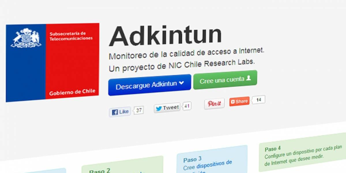 Chile: Proyecto Adkintun lanza software beta para que voluntarios ayuden a medir internet