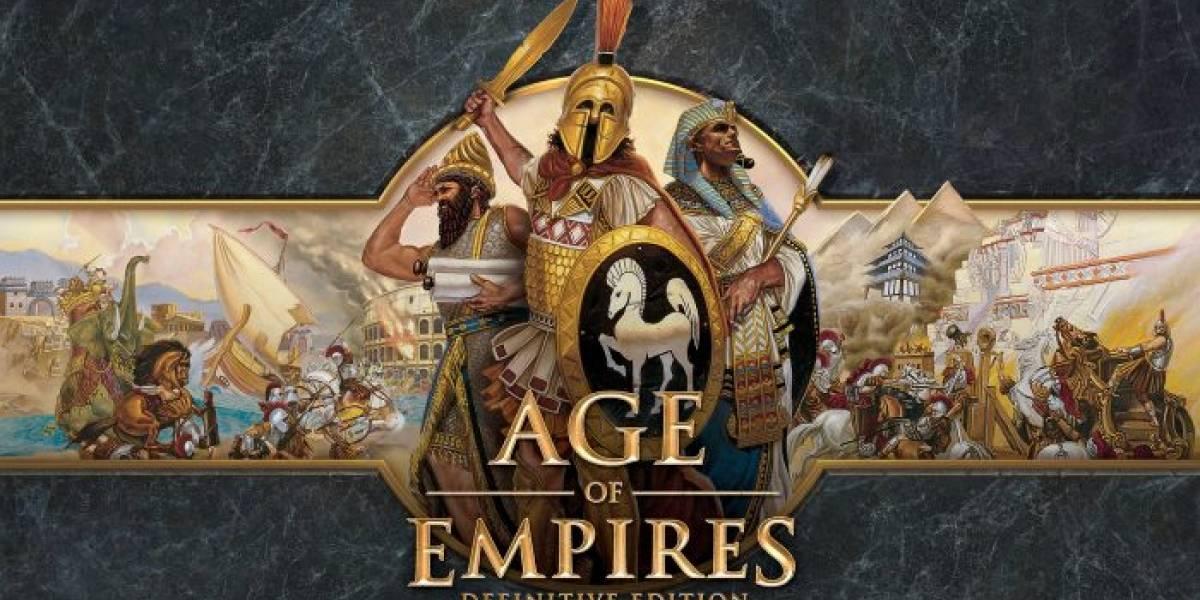 Age of Empires: Definitive Edition se lanzará en febrero