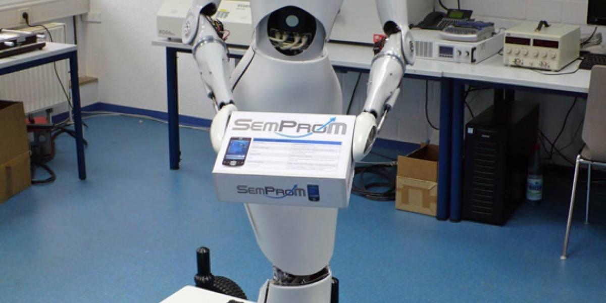 AILA: Una elegante robot que reconoce objetos para su manipulación y clasificación