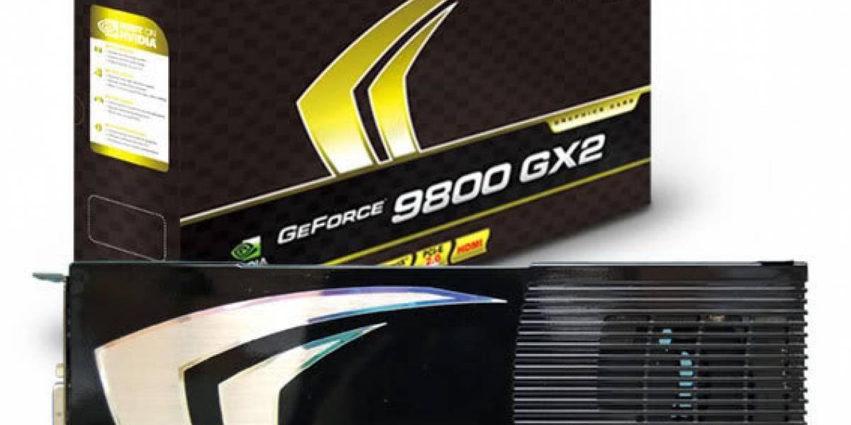 CeBIT08: Albatron GeForce 9800GX2 da la cara