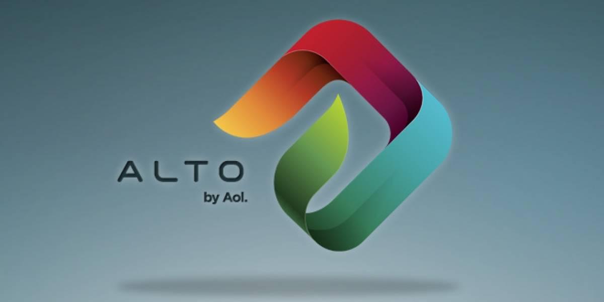 Alto, la propuesta de AOL para gestionar tu e-mail