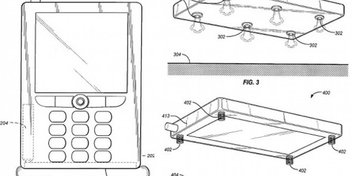 Jeff Bezos patenta airbags para smartphones