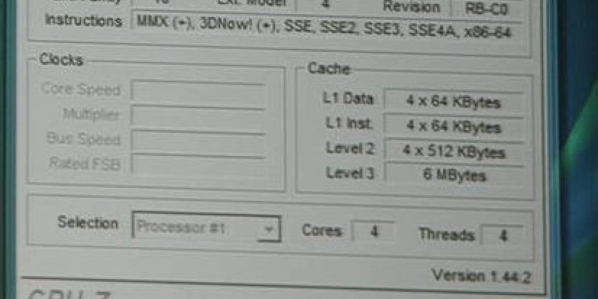 CeBIT08: AMD muestra CPU en 45nm