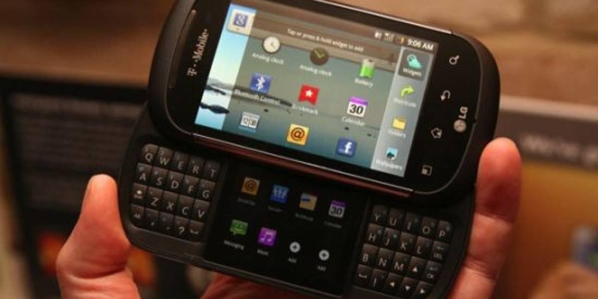 Misterioso smartphone de LG hace aparición en el Reino Unido