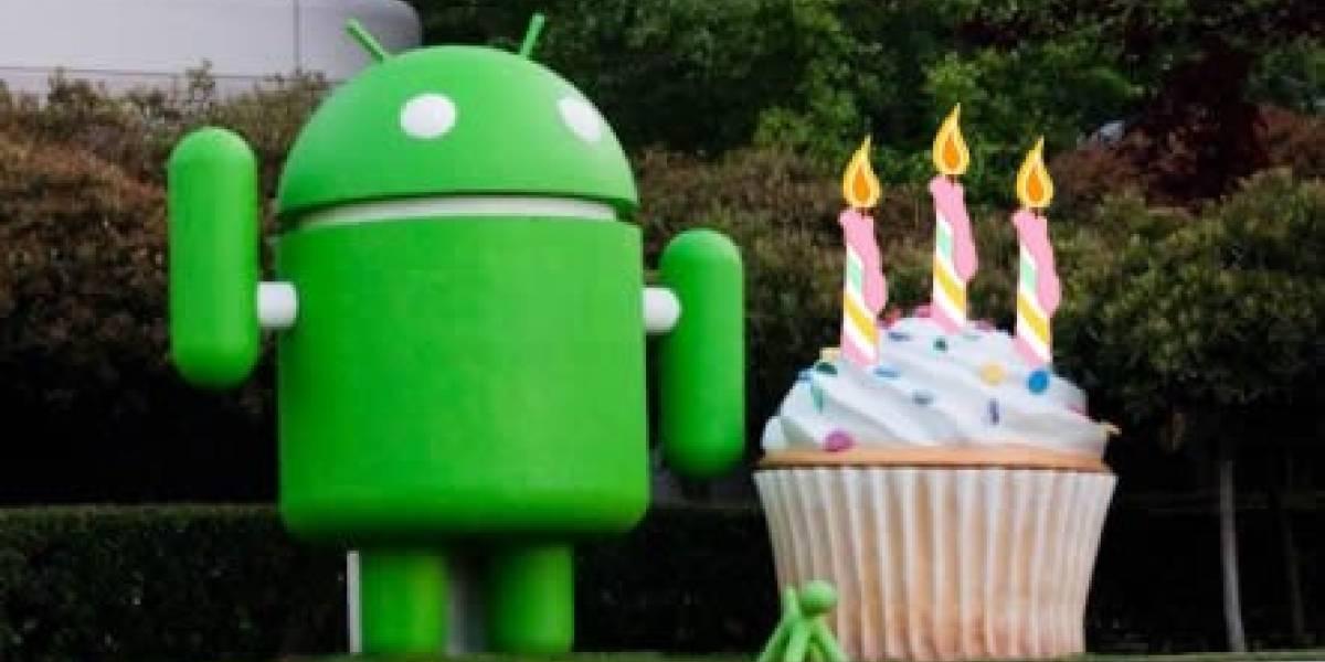 ¡Felices tres años, Android!