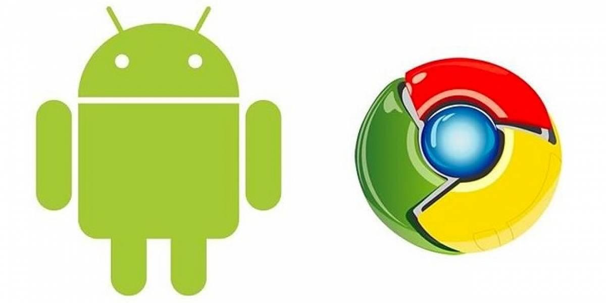 Rumor: Google Chrome podría llegar a Android este 11 de Octubre