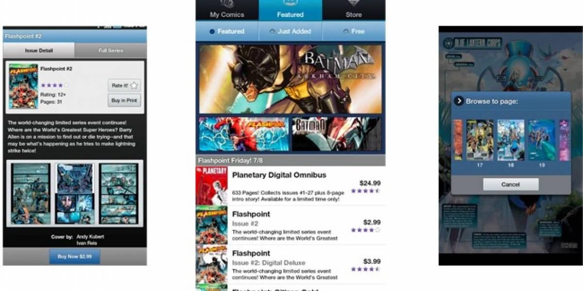 DC Comics lanza aplicación para Android