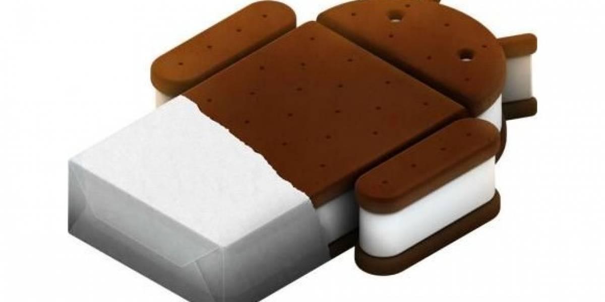 Primeros equipos con Android Ice Cream Sandwich llegarían en Octubre