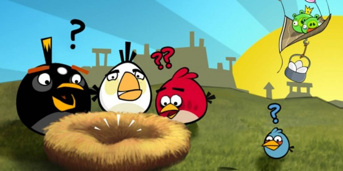 Angry Birds llegará muy pronto a Facebook