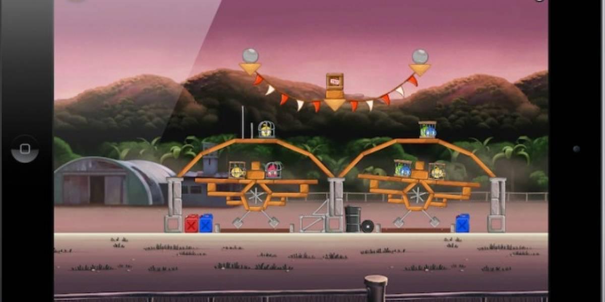 Actualización del Angry Birds Rio