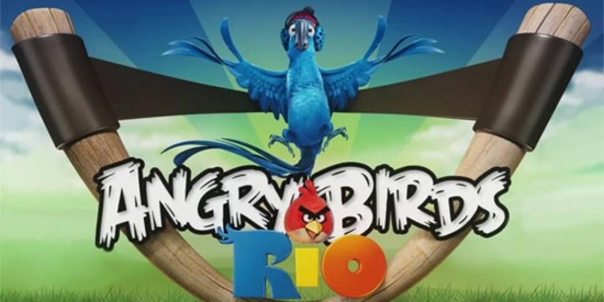Angry Birds Rio rompe record de descargas en 10 días