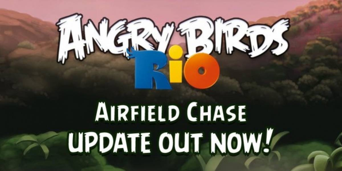 Angry Birds Rio para Android obtiene nuevos episodios de Airfield Chase