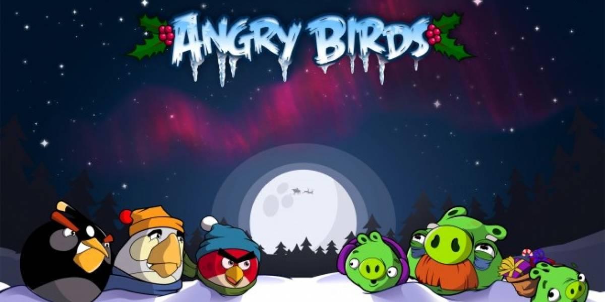 Disponible la edición navideña de Angry Birds