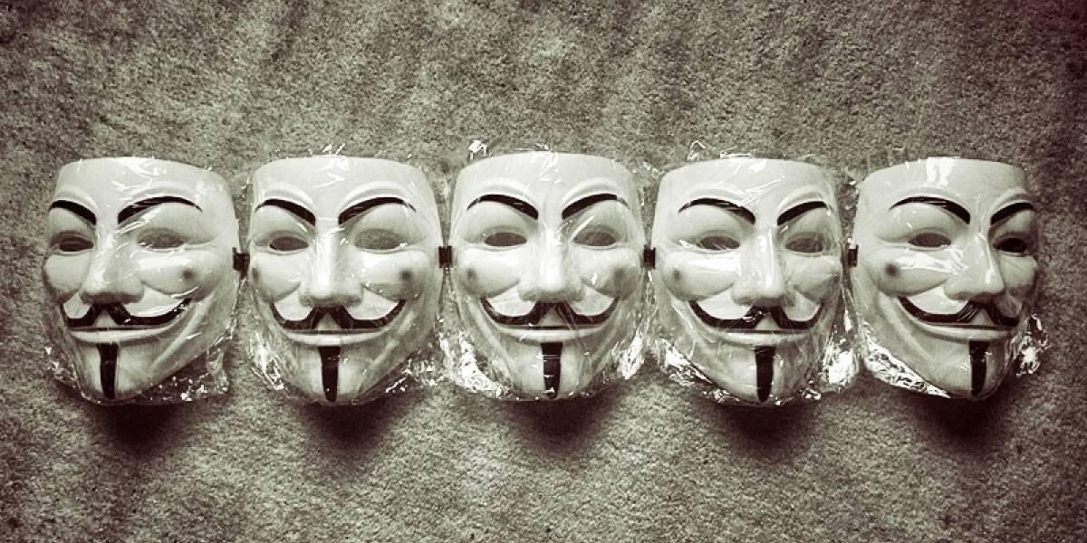Anonymous inicia ola de ataques en celebración del 5 de noviembre