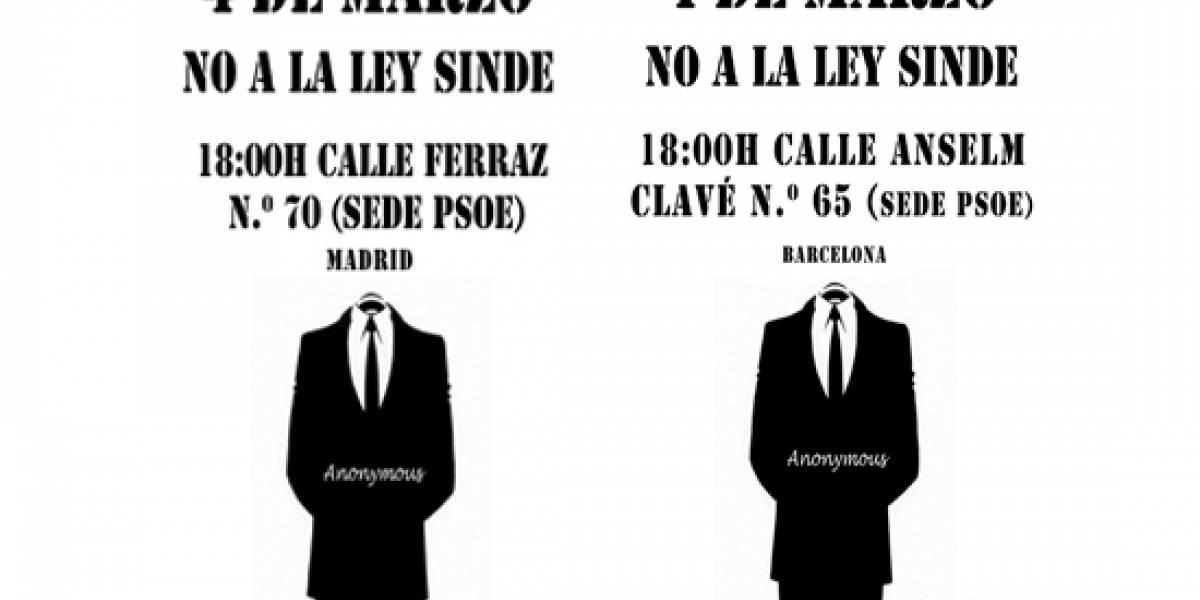 España: Anuncian más protestas contra la Ley Antidescargas