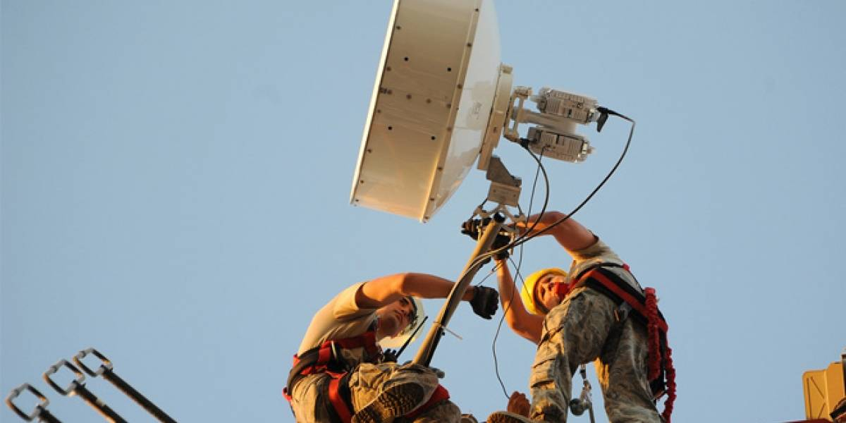 DARPA trabaja para crear red inalámbrica de 100 Gbps con un rango de 200 km